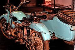 motocicleta con sidecar