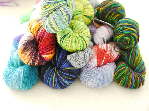 Personal Sock Yarn KAL