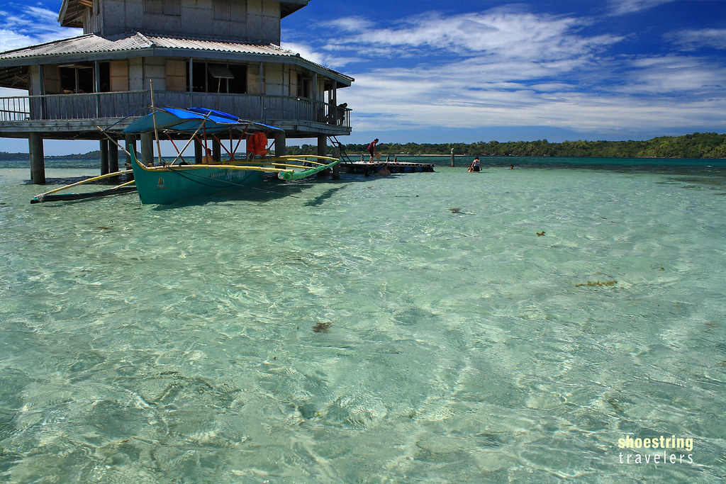 the Bacala Rest House and Sandbar