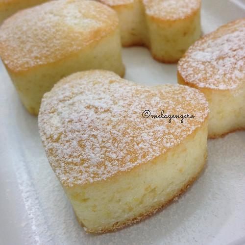 tortine al limone con soli albumi e senza lattosio