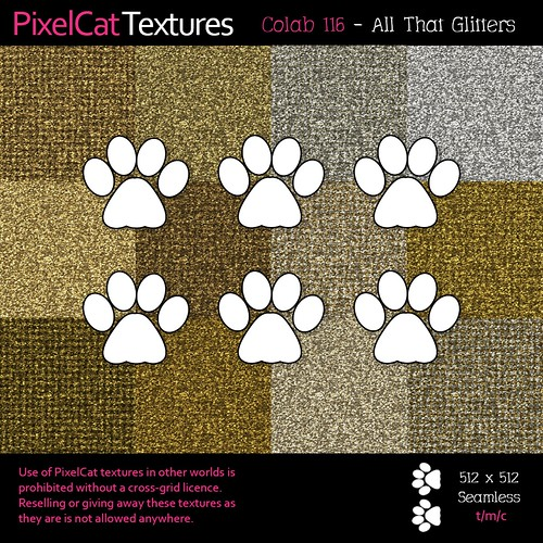 PixelCat Textures - Colab 116 - All That Glitters