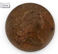 1796 Cent
