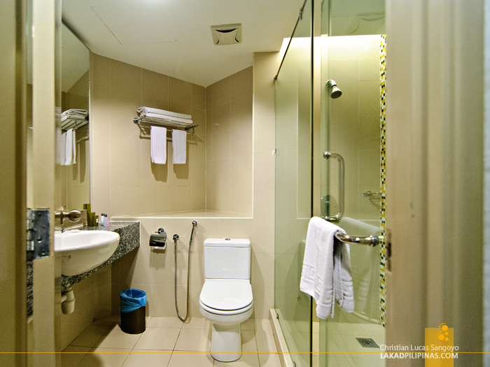 StarPoints Hotel Toilet and Bath in Kuala Lumpur