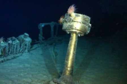 Brújula del SS Gairsoppa