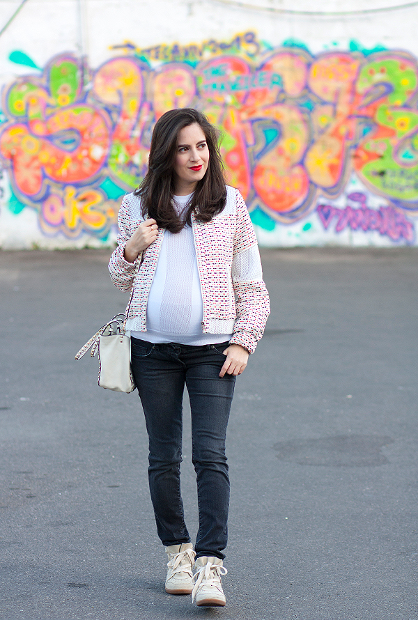 בלוג אופנה, הריון, בגדי הריון, אופנת הריון, ג'ינס הריון, אבישג ארבל, אאוטפיט, maternity jeans, style the bump, pregnancy fashion, israeli fashion blogger