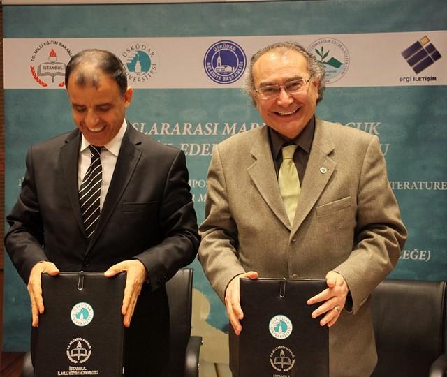 Üsküdar Üniversitesi'nde Türk-Yunan edebiyatı köprüsü kurulacak