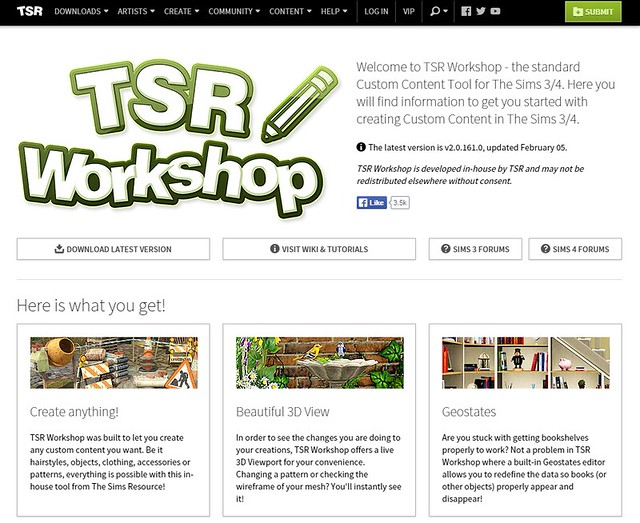 workshop tsr