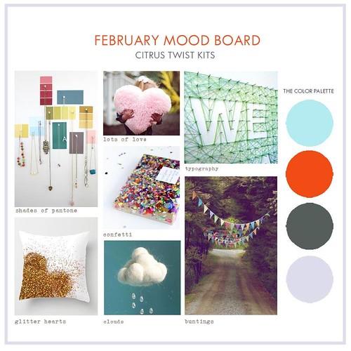 Feb Moodboard