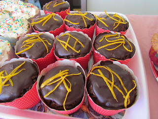 Chocolate-Orange GF Cupcakes