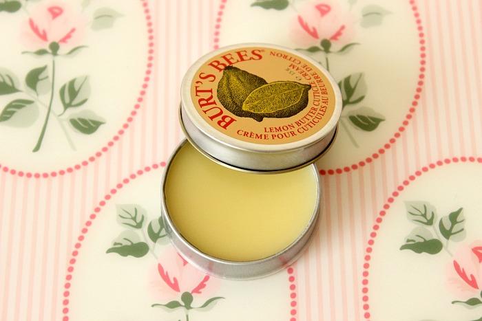 Burt's Bees Lemon Butter Cuticle Cream Review 1
