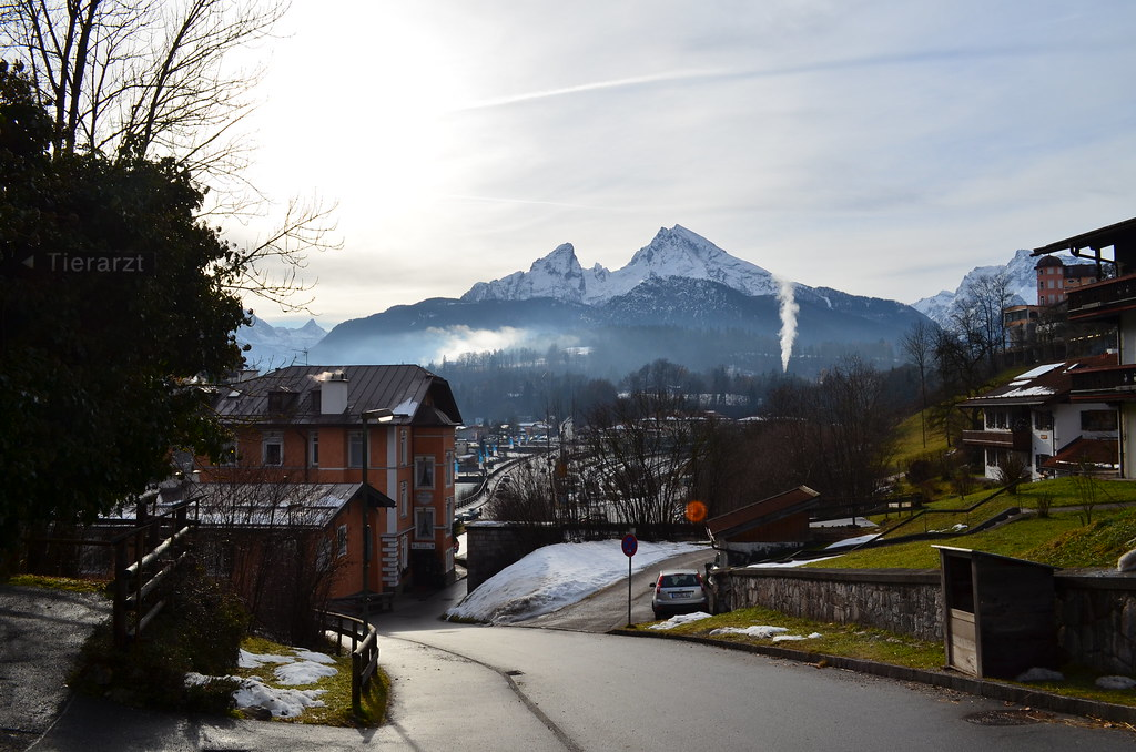 The view from Berchtesgaden City Centre