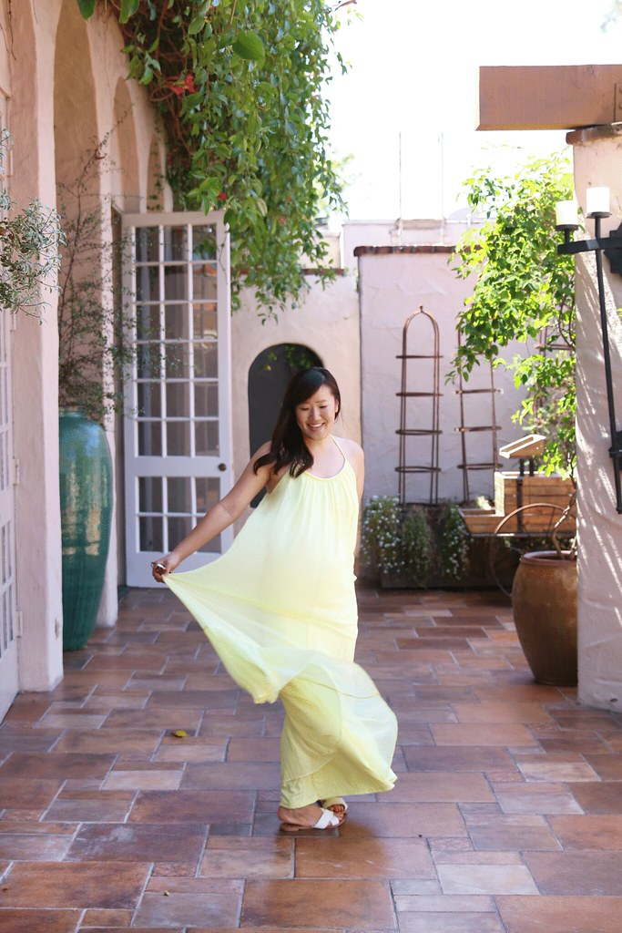 where to stay in san diego, rancho bernardo inn, travel blogger, california, blogger, orange county, travel blog, resorts, hotels, best hotel in san diego, vacation, simplyxclassic, miriam gin, forever 21, yellow maxi dress, lifestyle blogger,