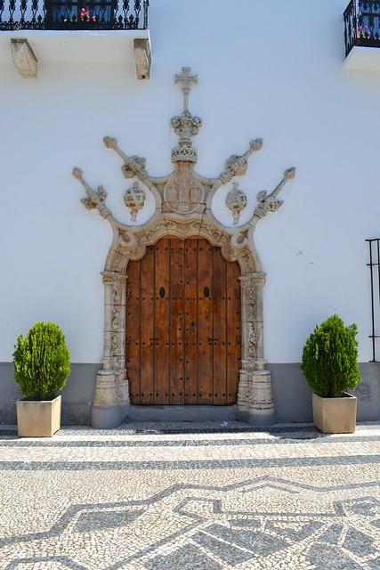 La imagen más famosa de Olivenza. casas Consistoriales