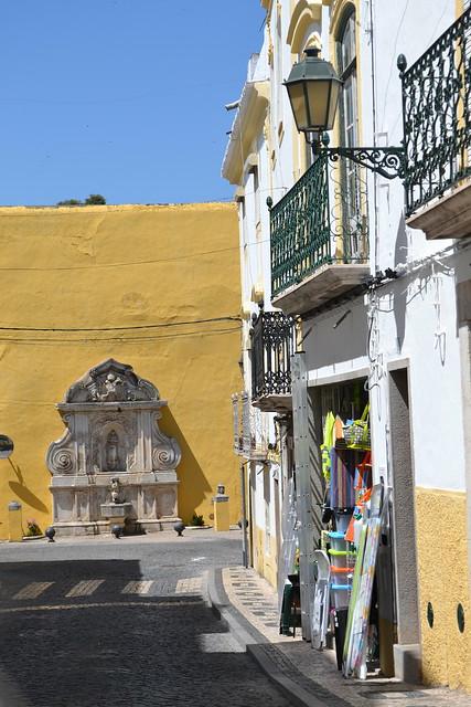 Una calle de Elvas