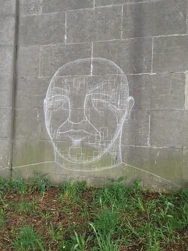 Street art sur les berges de Seine - Paris 7