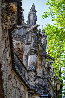 Image of Quinta da Regaleira. travel travelling castle castles portugal outside outdoors travels europe exploring travellers quintadaregaleira sintra gothic travellings palace unesco adventure explore castelo mansion traveling turret turrets travelers palaces monteiro travelblog portuguesa iberia travelphotography português travelphotographer travelblogs travelblogger travelings travelbloggers travelphotographers travelblogging weekendwayfarers