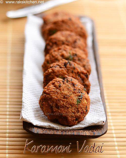 karamani-vadai-recipe
