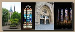 Stadt Luxemburg - Kathedrale 'Unserer lieben Frau'