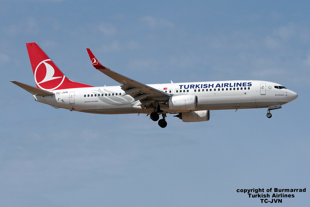 TC-JVN - B738 - Turkish Airlines