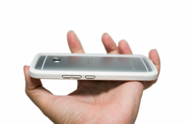 最小體積最大保護! HTC 10 適用 CrashGuard 犀牛盾防摔邊框手機殼 @3C 達人廖阿輝