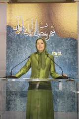 Maryam Rajavi at the Ramadan meeting in solidarity with the Syrian Revolution (10)