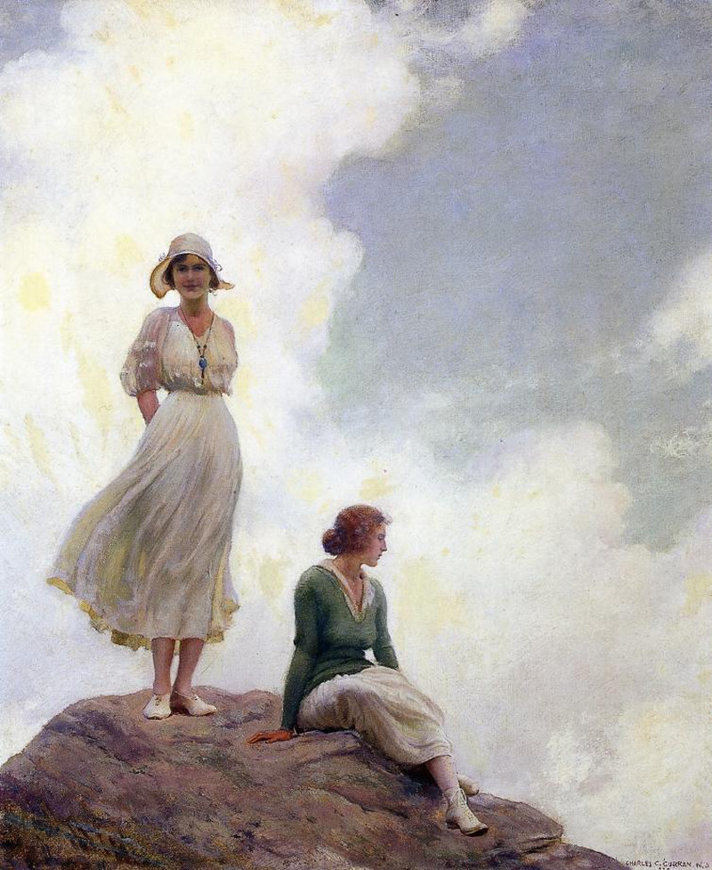 The Boulder by Charles Courtney Curran - 1919