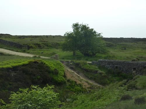Crossing Streams on Houndkirk Road