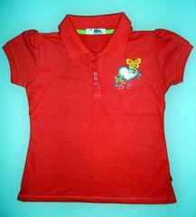 pocket(0.0), active shirt(1.0), clothing(1.0), red(1.0), sleeve(1.0), maroon(1.0), polo shirt(1.0), shirt(1.0), t-shirt(1.0),