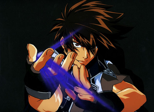 orphen hanken, sorcerous stabber orphen. this was used for a magazine article