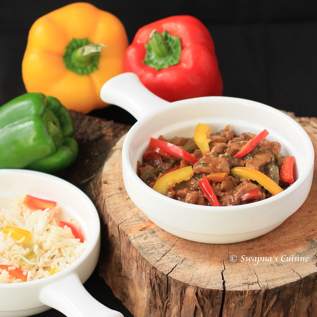 Beef with Bell Peppers Recipe