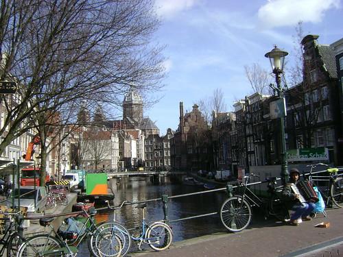 Músico, De Wallen, Amsterdam, Holanda/Musician, The Netherlands - www.meEncantaViajar.com by javierdoren