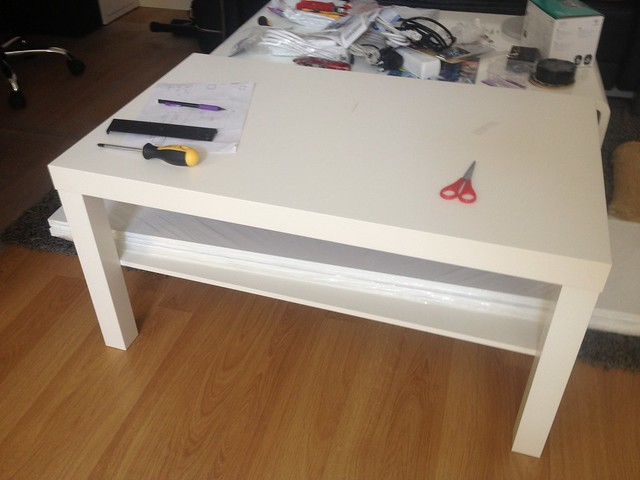 My build ikea arcade table petrockblog for Ikea table d arcade