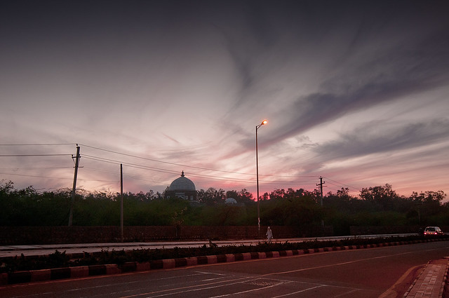 The Ghost of the Tughlaq Mausoleum at Delhi