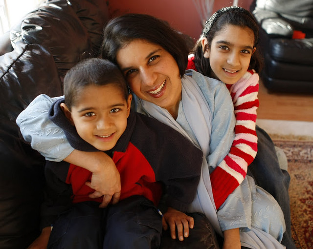 Naazish YarKhan and Family