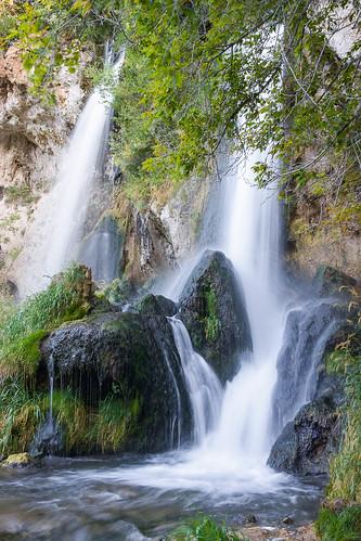 summer colorado unitedstates rifle waterfalls creeks waterscapes riflefallsstatepark