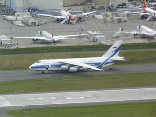 An Antonov 124 As Seen From the Air