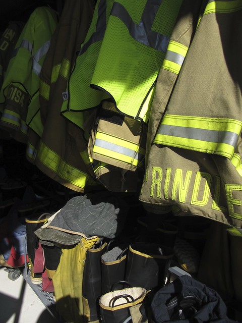 firefighters' coats