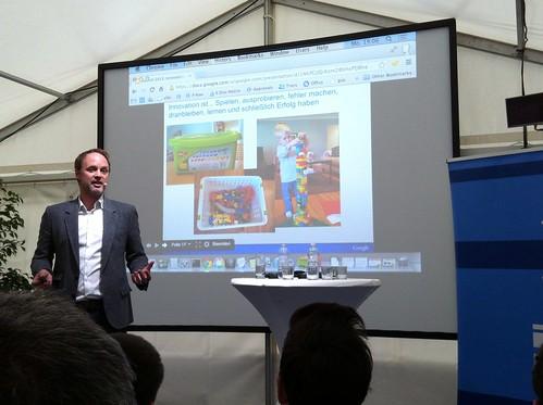 Klaus Peter Fett, Google Deutschland - HDS Tag der Dienstleister