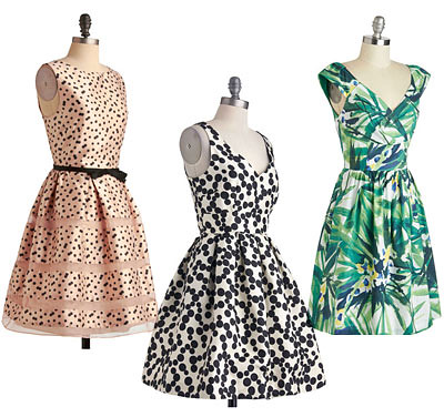 Dresses from ModCloth