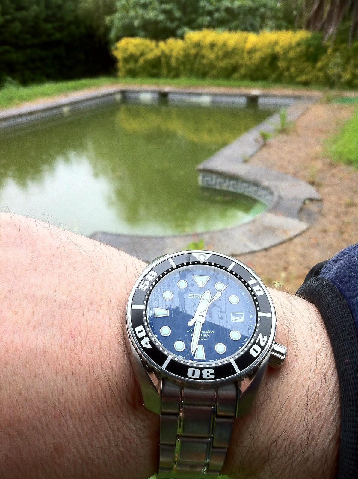 Relojes y piscinas foro general for Reloj piscina