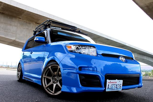 Voodoo Blue Scion Xb Flickr Photo Sharing