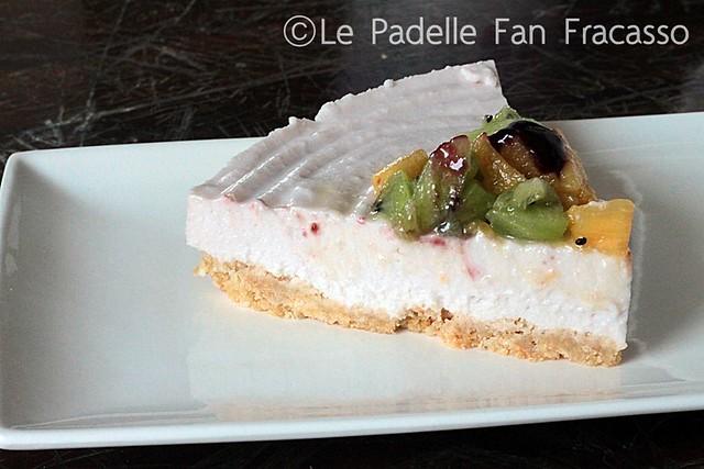 cheesecake di ricotta e frutta fatto da lei