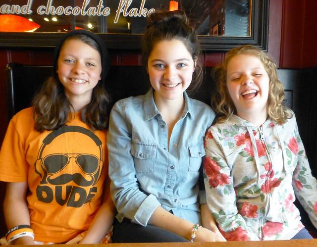 My 3 favourite girls! June13