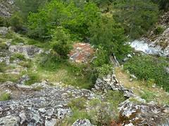 Le moulin de la Tartagine et son arrivée d'eau