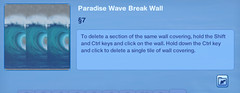 Paradise Wave Break Wall 2