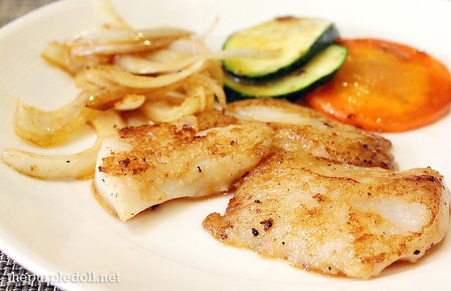 Fish Cod Teppanyaki at Spiral Sofitel Manila