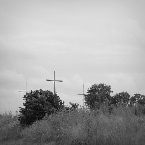 3 Crosses by Eugene Goodale