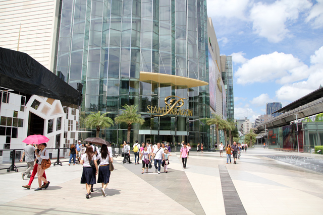 Siam Paragon shopping mall, Bangkok, Thailand