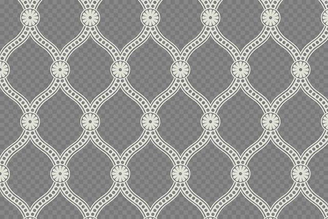 New Downloadable Seamless Pattern: Simple Damask