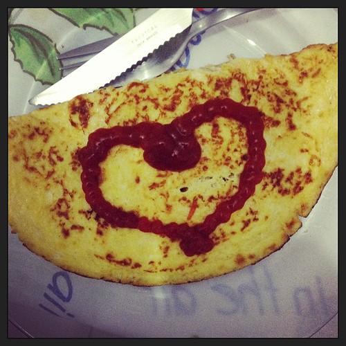 #dotesculinarios #omelete #ketchup #heinz #tdb